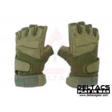 BHD Half Finger Assault Gloves - OD Green(M-XL)